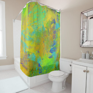 Abstract Shower Curtains Zazzle