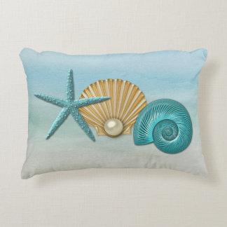 seashell pillows decorative throw pillows zazzle