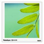 Aqua Green Leaf Room Decals