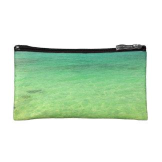 Aqua Green Ocean | Turks and Caicos Photo Cosmetic Bags