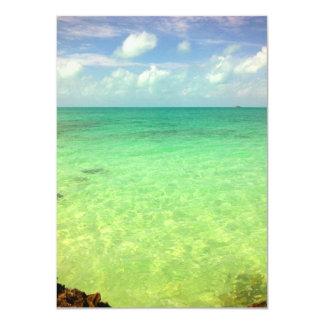 Aqua Green Ocean | Turks and Caicos Photo Card