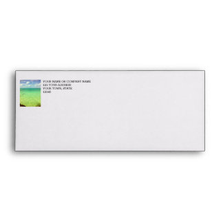 Aqua Green Ocean | Turks and Caicos Photo Envelope