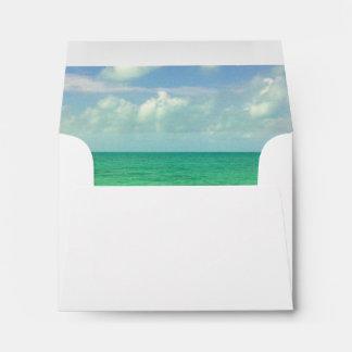 Aqua Green Ocean | Turks and Caicos Photo Envelope