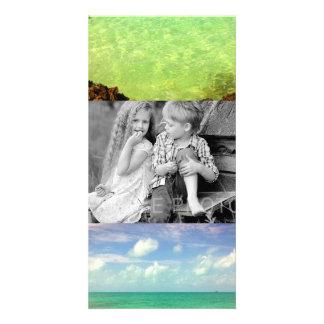 Aqua Green Ocean | Turks and Caicos Photo Photo Card