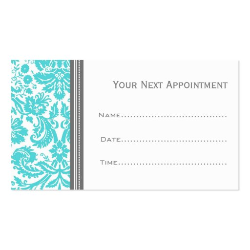 ... Appointment Cards Double-Sided Standard Business Cards (Pack Of 100