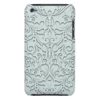 Aqua HeartyChic Barely There iPod Case