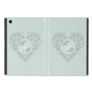 Aqua HeartyChic iPad Mini Cover