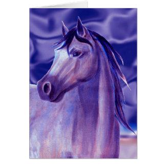 Aqua Horse Cards