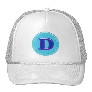 Aqua Initial D Trucker Hat