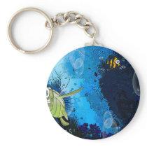 Aqua Keychain
