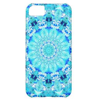 Aqua Lace, Delicate Case For iPhone 5C