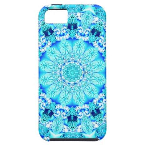 Aqua Lace, Delicate iPhone SE/5/5s Case