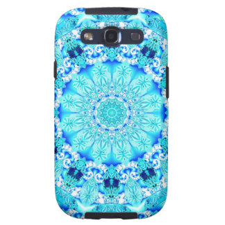 Aqua Lace, Delicate Galaxy SIII Covers