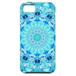 Aqua Lace, Delicate iPhone 5 Cases