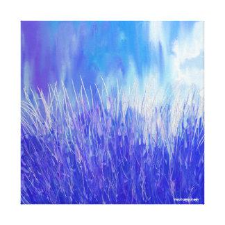 Aqua Life II Canvas Print