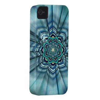 Aqua Lotus Mandala iPhone4 Case