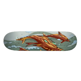 Aqua Marine Revenge Skateboard Deck