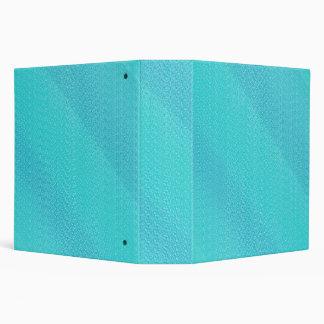 Aqua Medium Textured 2 inch Binder