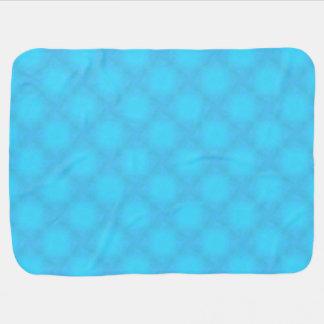 Aqua Mist Stroller Blanket