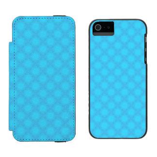 Aqua Mist Wallet Case For iPhone SE/5/5s