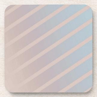 Aqua Mix Stripe Coaster Set