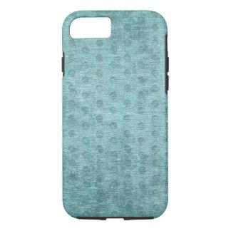 Aqua Nubby Chenille Fabric Texture iPhone 7 Case