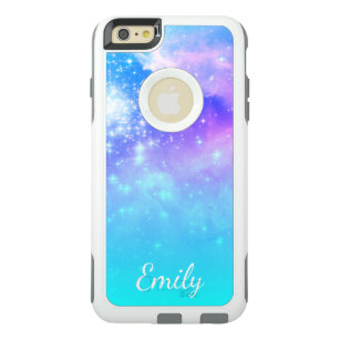 sports shoes b24c7 7fd5b Aqua Ombre Space Photo Personalized OtterBox iPhone 6/6s Plus Case