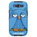 Aqua Owl aqua T-Mobile Samsung Galaxy S Case Galaxy SIII Cover