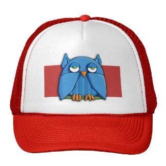 Aqua Owl red Hat