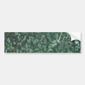 Aqua Painted Glitter Shimmer Bumper Sticker