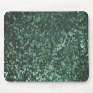 Aqua Painted Glitter Shimmer Mouse Pad