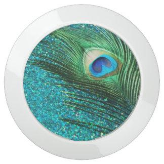 Aqua Peacock USB Charging Station