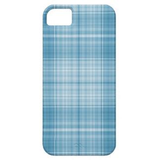 Aqua Plaid iPhone SE/5/5s Case