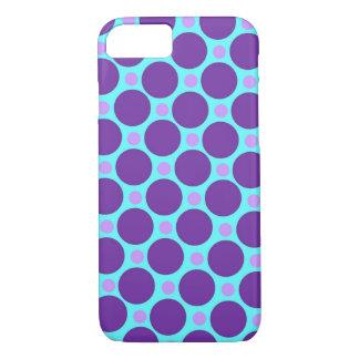 Aqua Polka Dot iPhone 7 Case