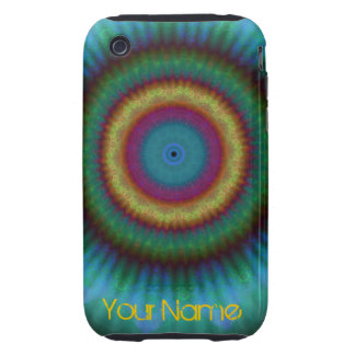 Aqua Pools Mandala iPhone 3g 3gs tough case iPhone 3 Tough Cases