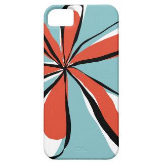 Aqua Pop Flower on iPhone case iPhone 5/5S Case