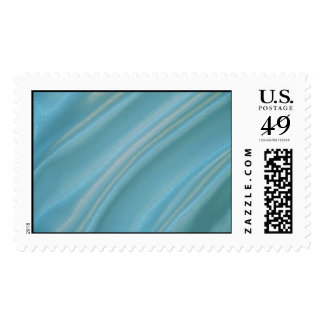 Aqua Postage Stamps
