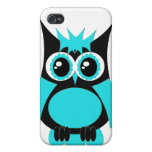 Aqua Punk Owl Speck Case iPhone 4 Cover