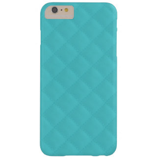 Aqua Quilted Leather Wedding Barely There iPhone 6 Plus Case