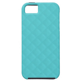 Aqua Quilted Leather Wedding iPhone 5 Covers