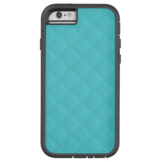 Aqua Quilted Leather Wedding Tough Xtreme iPhone 6 Case