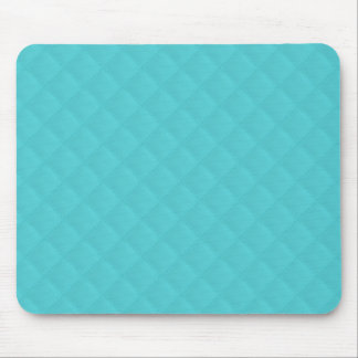 Aqua Quilted Leather Wedding Mousepad