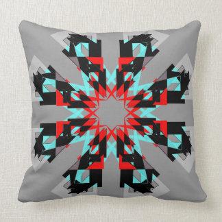 Aqua And Red PillowsDecorativeThrow PillowsZazzle