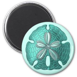 Aqua Sand Dollar Magnet