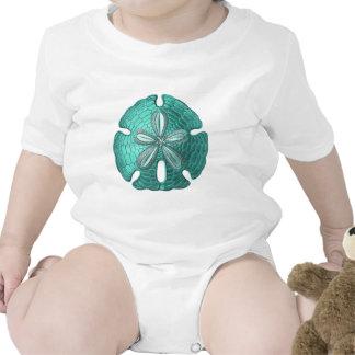 Aqua Sand Dollar Shirts
