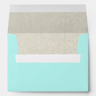 Aqua Sands Envelope