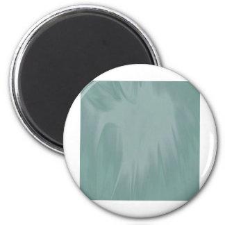 Aqua Satin 2 Inch Round Magnet