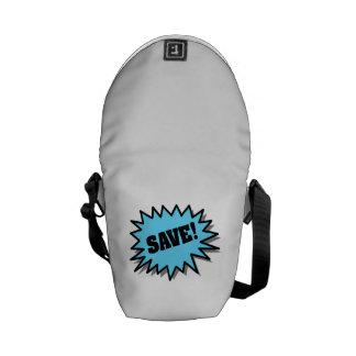 Aqua Save Messenger Bag