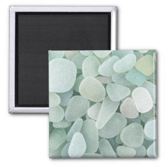 Aqua Sea Glass Magnet