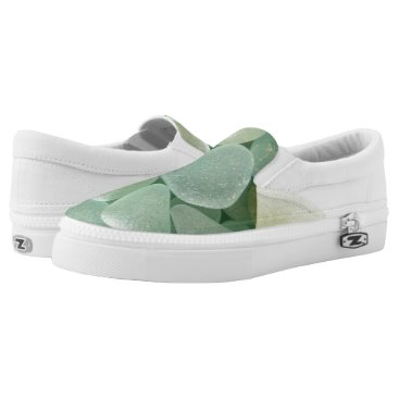thestrandlineart Aqua Sea Glass Sneaker